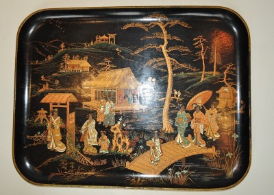 large JAPANESE  TRAY