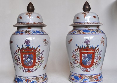 EUROPEAN PAIR OF  VASE