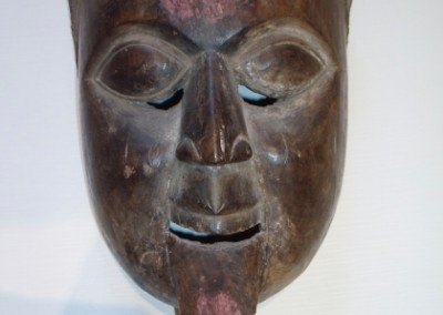 A  LARGE  ALTAR  MASK  FROM  SOUTH  INDIA 19 CENT.