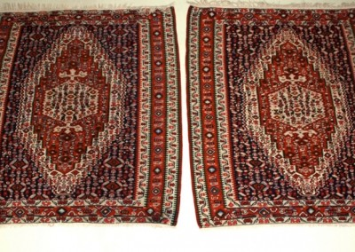 PAIR OF SENNEH    KILIM   excellent condition