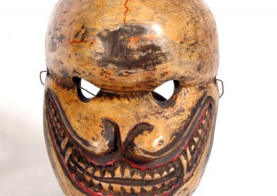 CITIPATI  MASK  for  » cham dance  » tibet