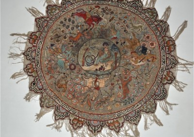 KAYSERI RUG ANATOLIA  METAL AND WOOL 19 cent
